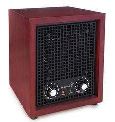 Best Seller Ivation Ozone Generator Air Purifier, Ionizer & Deodorizer -Purifies Up Sq/Ft -Great Dust, Pollen, Pets, Smoke & More Cherry online - Nanakoshopping