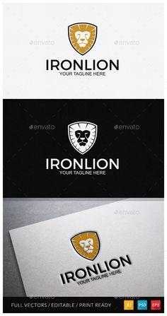 One Day logo sale on graphicriver #logodesign #film #lion  #cybermonday #sale #logo #logotemplate #freedom #iron