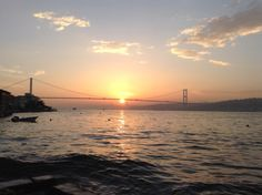 Sunset over the Bosphorus