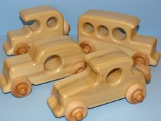 Special Edition Old Timer's  Classic Wooden Toy by Darlingling