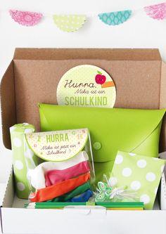 Überraschungsbox in Grün