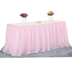 3 Yards High-end Gold Brim 3 Layer Mesh Fluffy Tablecloth - Cute for a girls party or a Chanel party