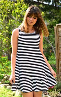 marine stripes summer dress by sistu