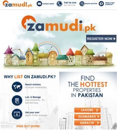 Visit www.zamudi.pk to find the perfect residential and commercial properties in Pakistan!