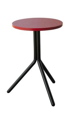 Amish Retro Poly Side Table Bring a contemporary look to your outdoor furniture collection with a handy, durable, colorful Retro Poly Side Table. Perfect to hold drinks, glasses, phones, reading material and more. Made with eco friendly poly lumber.