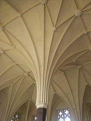 GOTYK: sklepienie palmowe – Zamek krzyżacki w Malborku, Pałac Wielkiego Mistrza (Zamek Średni)
