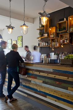 Bar? - The Shop in Kensal Rise is my local – relaxed and quirky. But really I'm much more of a café girl.