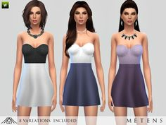 The Sims Resource: Fairytale - Dress by Metens • Sims 4 Downloads