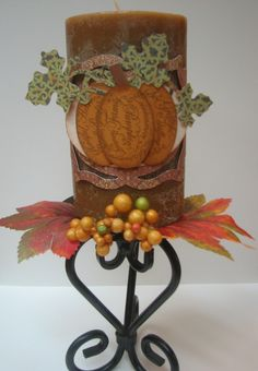 How to create your own Thanksgiving centerpiece #CTMH