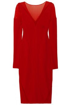 Donna Karan in red. My power color!