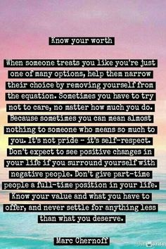 Know your worth 2