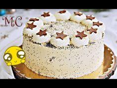 TORTY - YouTube Polish Recipes, Malaga, Vanilla Cake, Sweet Recipes, Birthday Cake, Cookies, Food, Youtube, Pies