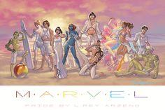 Marvel Pride by Rey Arzeno