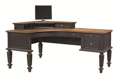 Ravenwood Desk and Hutch by Aspenhome