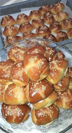 Good Food, Yummy Food, Greek Recipes, Croissant, Pretzel Bites, Food And Drink, Tasty, Bread, Breakfast