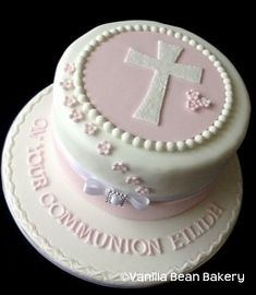 confirmation cake girl - Google Search