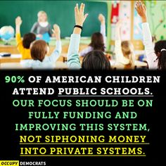 And Trump puts someone in charge of our children's education that has NO clue whatsoever.