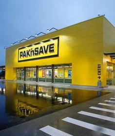 Building Front, Building Exterior, Building Design, Shop Front Design, Garage Design, Halle, Supermarket Design, Sign Board Design, Building Elevation