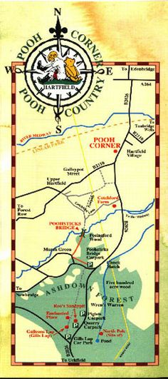 Pooh's Map