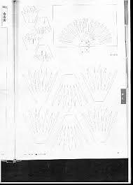 Znalezione obrazy dla zapytania киригами схемы