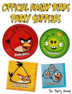 Angry Birds Feestje; Cupcake - wraps - wrappers - uitnodigingen - vlaggenlijn - zakjes - goodiebags - alles voor een feestje! - Plazilla.com