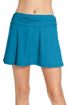 X by Gottex Swim Skirt, Swim Dress, Swimsuit Fabric, Cheer Skirts, Looks Great, Cover Up, Mini Skirts, Swimsuits, Nordstrom