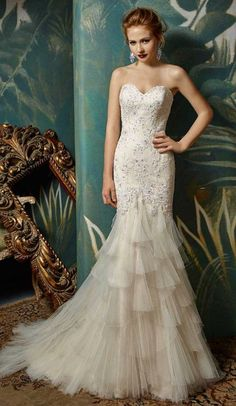 Courtesy of Enzoani Wedding Dresses; www.enzoani.com