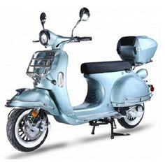 Sears BMs BMS Chelsea BLUE Gas Single Cylinder 4 Stroke Automatic Moped Scooter
