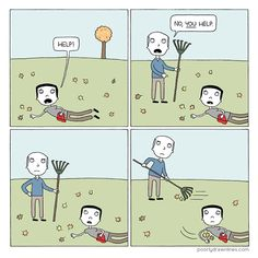 """H is for Help 