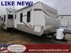 2013 STARCRAFT AUTUMN RIDGE 336 RESA -- Never Been Used! -- Equipped With 2 SLIDE-OUTS, FIREPLACE, Bathroom w/Shower and Much More! -- CALL TODAY! * 757-424-6404 * FINANCING AVAILABLE! -- Courtesy Auto Sales SPECIALIZES In Providing You With The BEST PRICE On A USED CAR, TRUCK or SUV! -- Get APPROVED TODAY @ courtesyautosales.com * Proudly Serving Your USED CAR NEEDS In Chesapeake, Virginia Beach, Norfolk, Portsmouth, Suffolk, Hampton Roads, Richmond, And ALL Of Virginia SINCE 1976!