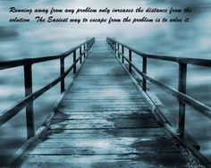 Quotes on running away