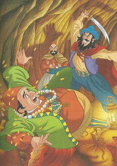 52 de povesti pentru copii.pdf Ali Baba, Bullet Journal, Fictional Characters, Short Stories, Rome, Fantasy Characters