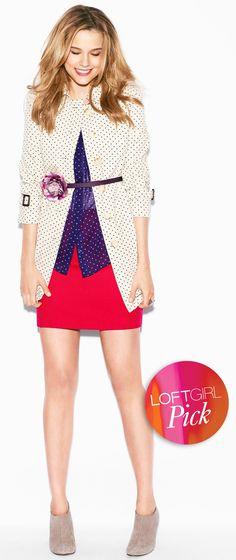 LOFT star trench & pink mini - Summer 2012