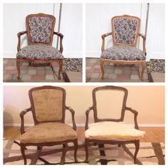 Love my redone old chairs!