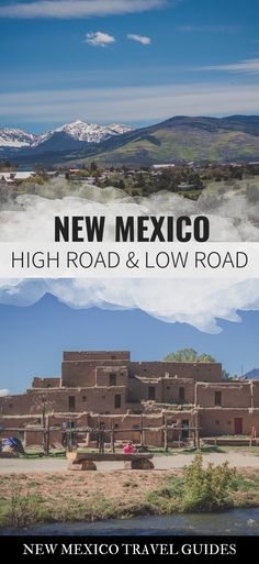 Where to stop along New Mexico's scenic High Road and Low Road. The High Road and Low Road in New Me New Mexico Road Trip, Travel New Mexico, Taos New Mexico, Hawaii Travel, Places To Travel, Travel Destinations, Places To Go, Santa Fe, Travel Guides