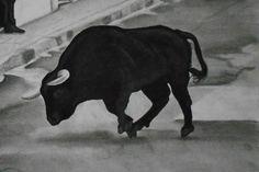 Dibujo hecho a lápiz, lápices de color negro, blanco Tamaño folio.  Pencil drawing, pencil black, white foolscap.