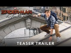 Sony has released the first trailer for Tom Holland's new Spider-Man: Far From Home film. Spider-Man: Far From Home hits in theaters on July 2019 Watch the First Trailer for Tom Holland's Spider-Man: Far From Home Tom Holland, Films Marvel, Marvel Dc, Spiderman Marvel, Nick Fury, Man Movies, Home Movies, New Trailers, Movie Trailers