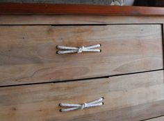 Dresser Handle DIY Idea