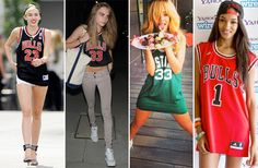 Basketball Jerseys Find New Fans in the Fashion Set