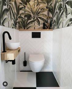 Bathroom Under Stairs, Loft Bathroom, Bathroom Layout, Bathroom Interior Design, Small Bathroom, Small Downstairs Toilet, Small Toilet Room, Downstairs Bathroom, Wc Design