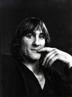 O jovem Gérard Depardieu
