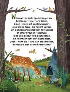 Waldtiere #kindergarten #erzieher #erzieherin #fingerspiel #kita