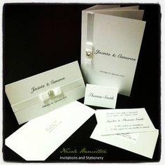 One of many wedding invitation packages available from Nicole Hamilton. Change the colours to suit your theme. www.facebook.com/NicoleHamiltonInvitationsAndStationery