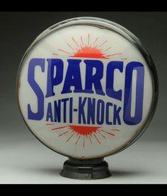 Beautiful Sparco Gas Globe
