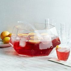 Gem Punch Bowl and Ladle from West Elm