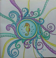 #oceanoperdido #lostocean #johannabasford #desenhoscolorir #coloring #coloringbook #coloringbookforadults #coloriage