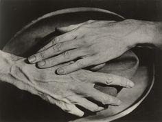 Beginnings of Photo Journalism Berenice Abbott. Hands of Jean Cocteau. 1927