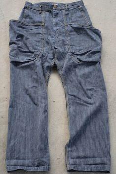 Kapital   Hakama Sailor Pants. Oh my.  I need jeans with pockets like these!