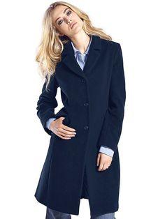 #B.C. #Best #Connections #Damen #Kurzmantel #blau - Kurz-Mantel. Ein Klassiker…