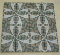 15,2 x 15,2 cm, Germany. Mesa Bonita has been collecting hydraulic tiles for the past 10 years. All the tiles have been saved from the city dumpsters and desperately need a second life. They can be turned into a pretty table, console, nightstand, frame, trivet, coaster… Contact me for information, I have a wide selection of styles and colors and a whole bunch of ideas: Benedicte Bodard Mesa Bonita/Barcelona Tiles benedictebodard@gmail.com www.mesabonita.es https://www.pinterest.com/bbodard/